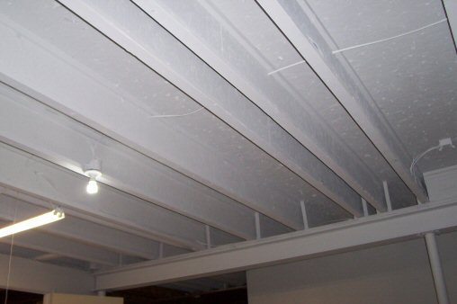 Superb Painted Ceiling I Beam Joists