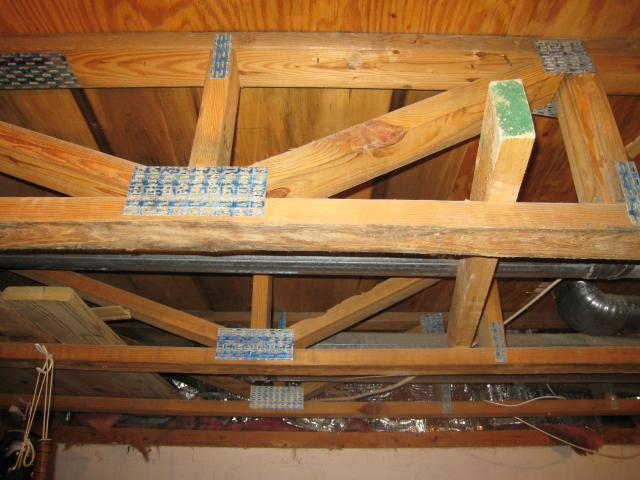 Floor joists solid lumber tji 39 s lvl and open web floor for Floor trusses vs floor joists