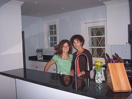 after kitchen remodel bar