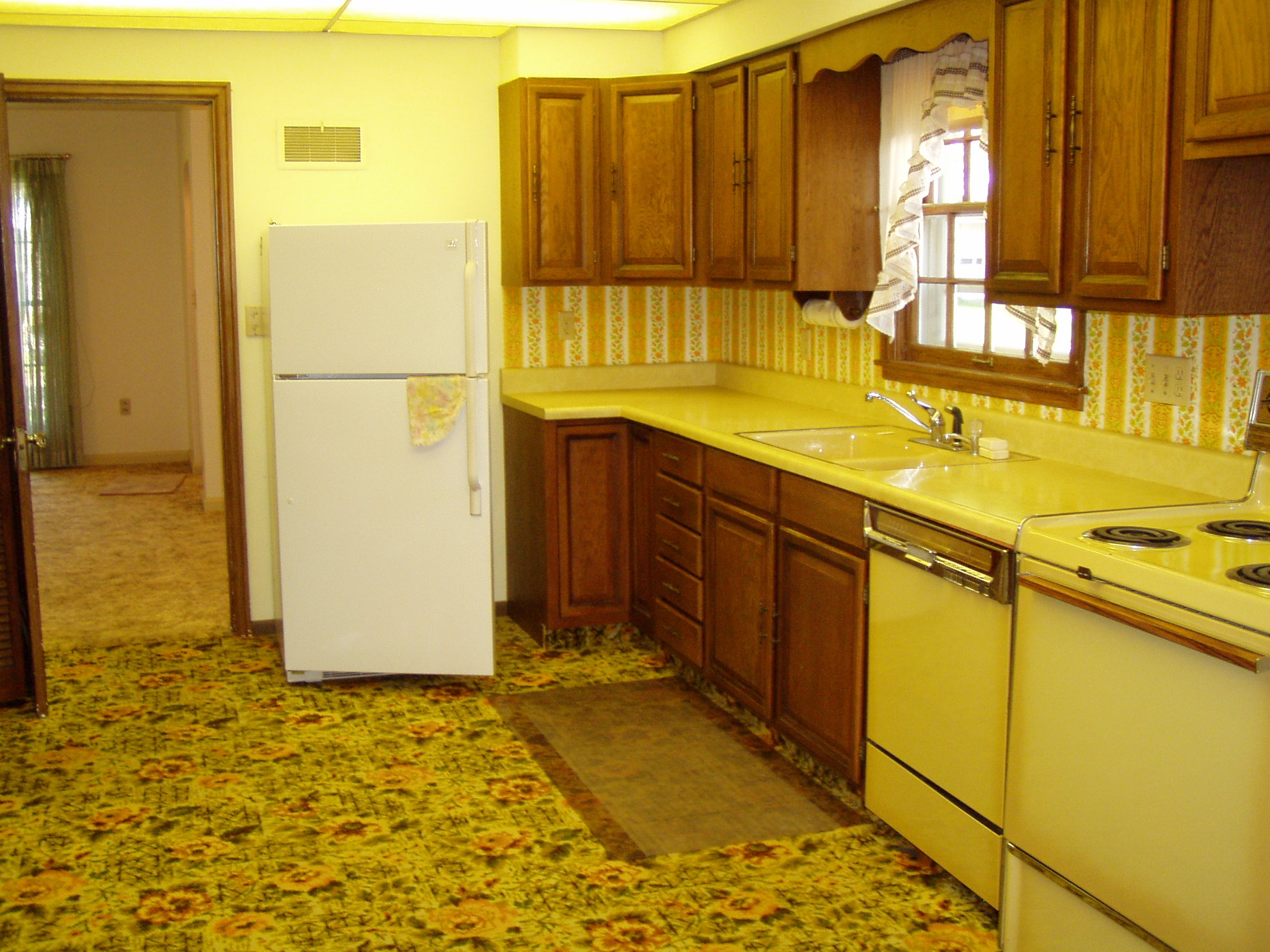 Those of us who lived through the 70s for Kitchen design 70s