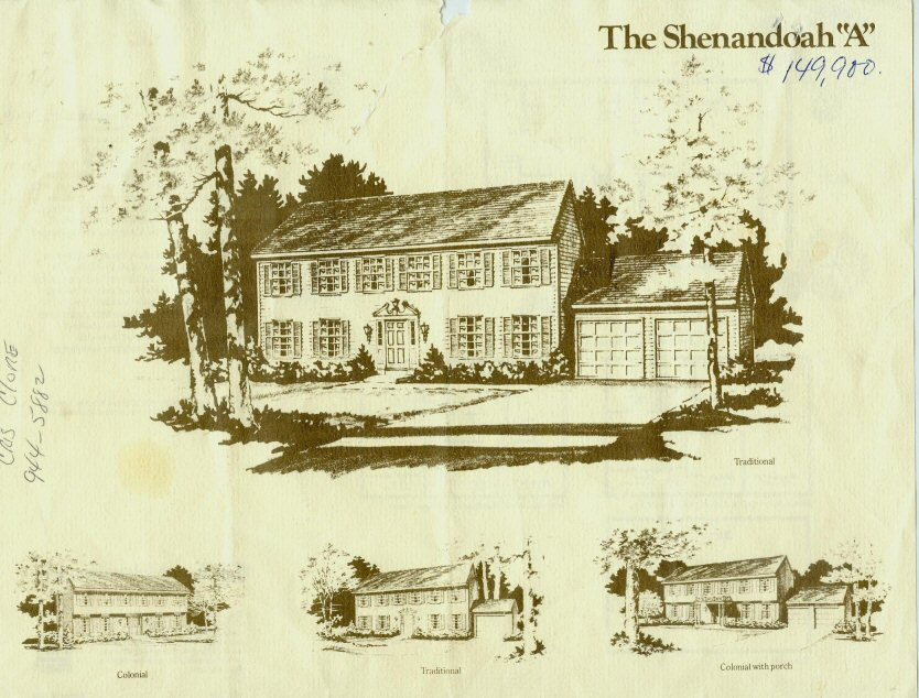 ryan colonial home brochure
