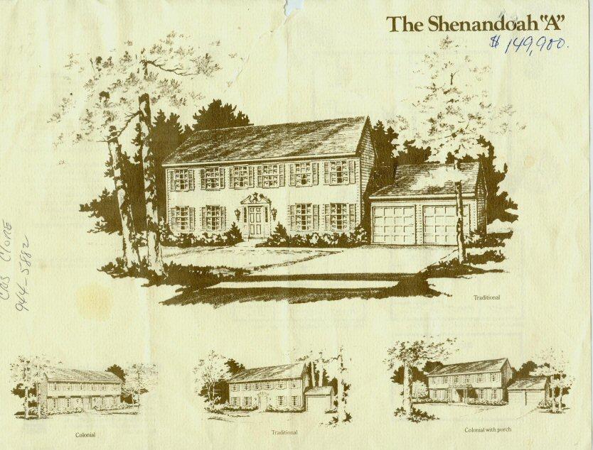ryan colonial home brochure