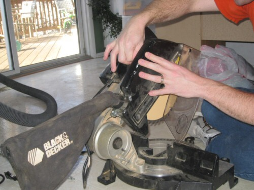 Replace-Saw-Housing