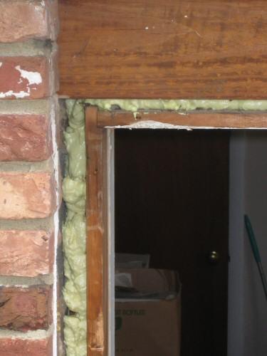 Basement Window Sill