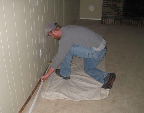 Baseboard Removal