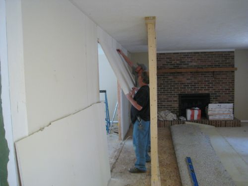 Drywall Removal 2