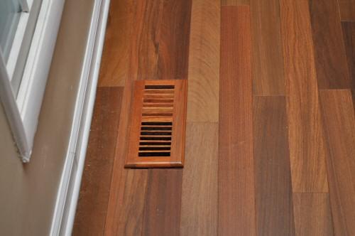 Install Hardwood Floors Around Heating Amp A C Vents One