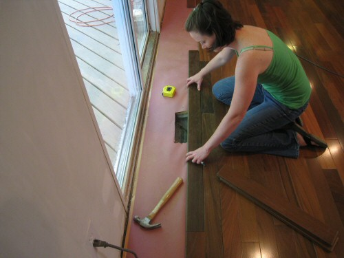 Measuring-the-first-board-in-working-around-a-vent