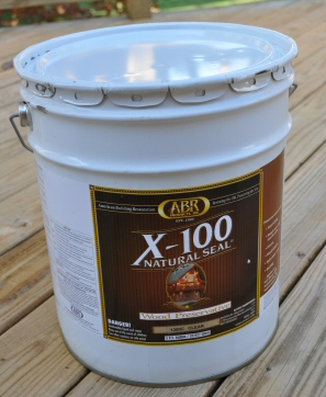 X100 Deck Stain and Sealer 5 Gallon Bucket