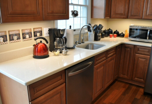 Dupont Zodiaq Countertop Installation & Review - One Project Closer
