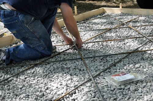 How To Pour A Concrete Shed Foundation One Project Closer