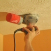 How to Remove a Stipple Ceiling by Sanding