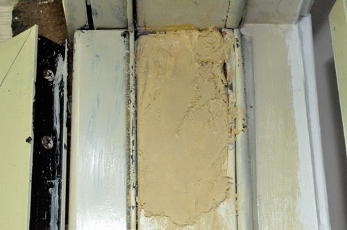How To Use Plastic Wood To Repair A Rotted Wood Door Frame