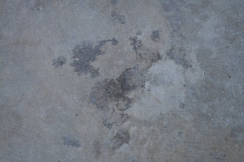 How to paint an epoxy concrete floor coating quikrete for Grease stains on concrete
