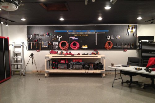 How To Paint Pegboard And Give Your Workshop Some Much