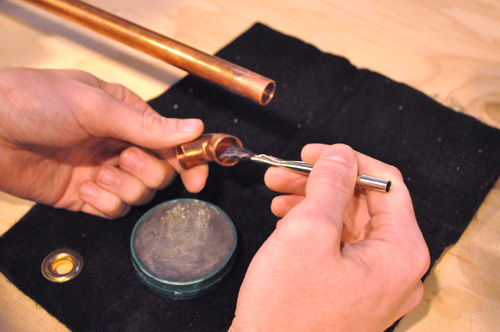 How To Sweat (Solder) Copper Water Pipes For A Watertight Seal