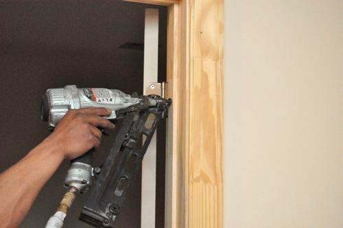 Pocket Door Trim Installation how to install pre-hung doors - one project closer