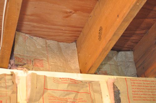finishing a basement day 4 insulation one project closer