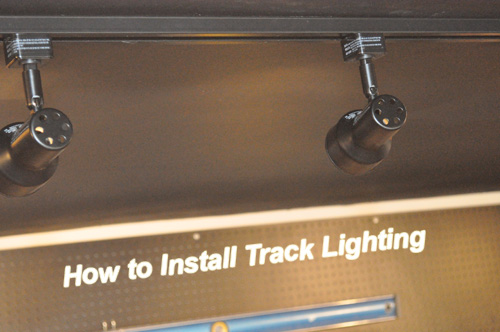 How to Install Track Lighting  One Project Closer