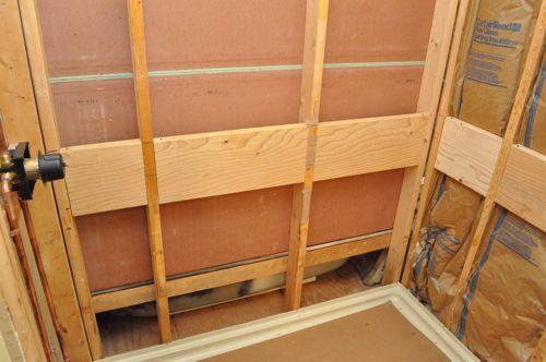Installing Bathroom Wall Tile Preparation