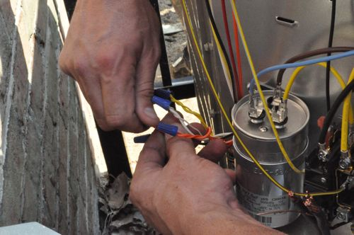 how to install a new heat pump overview pictures one step