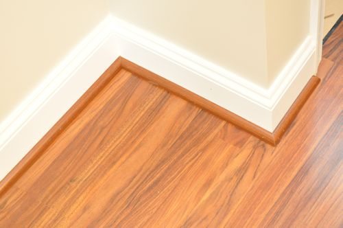 Step ... - How To Install A Floating Laminate Floor - One Project Closer