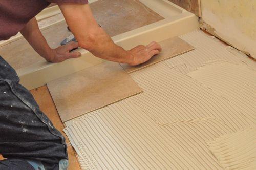 Pro Tip   How to Tile a Bathroom  Shower Walls  Floor  Materials  100 pics  . Install Tile Bathroom Shower Wall. Home Design Ideas