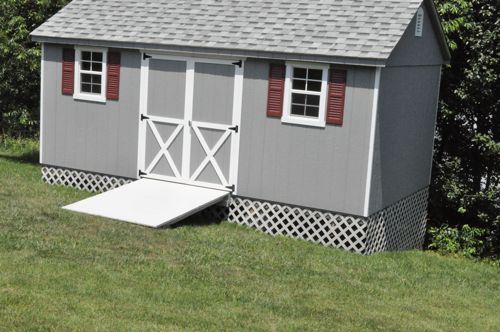 Bryant: How to build shed on uneven ground