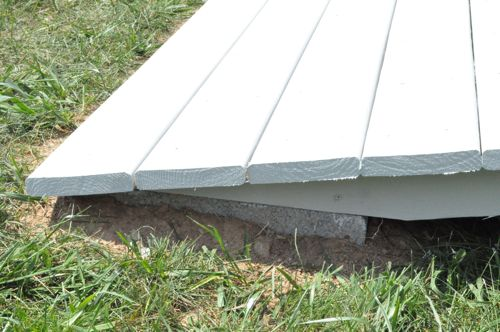 Permalink to how to build a shed ramp on uneven ground