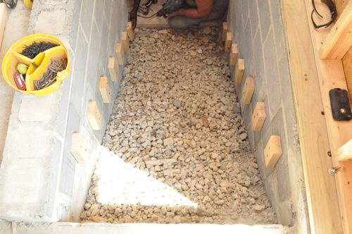 How To Pour Concrete Stairs One Project Closer