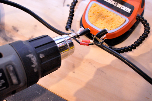 Damaged Power Cords : How to repair a cut or damaged power cord one project closer