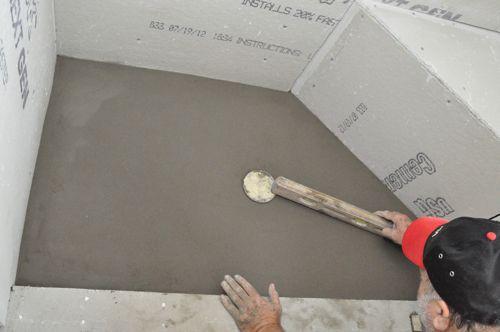 kohler purist black cast iron shower base mon 36 how to pour a shower pan one