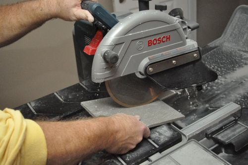 Bosch Tc10 Wet Tile Amp Stone Saw Review One Project Closer