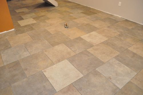 How To Grout A Tile Floor One Project Closer