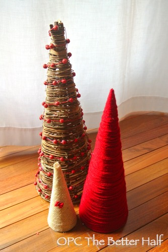 DIY Christmas Trees - OPC The Better Half