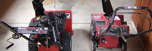 how to change columbia snowblower auger cable