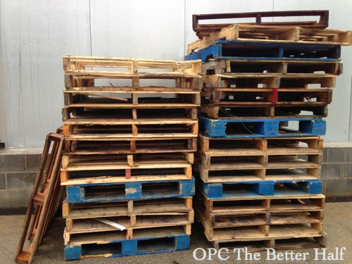 Deconstructing Pallets - OPC The Better Half