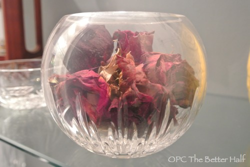 Vera Wang Crystal Bowl with Roses - OPC The Better Half