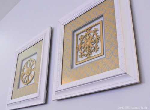 $5 Frame Makeover - OPC The Better Half