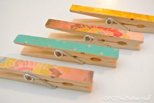 Personalized Clothes Pins - OPC The Better Half