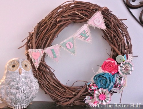 Valentine's Day Wreath - OPC The Better Half