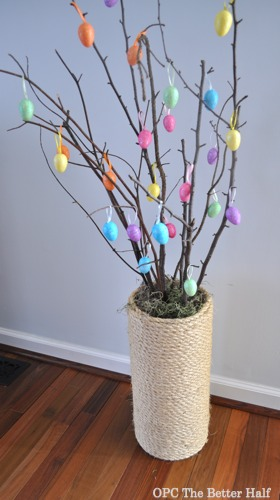 Easter Egg Tree with Rope Vase - OPC The Better Half