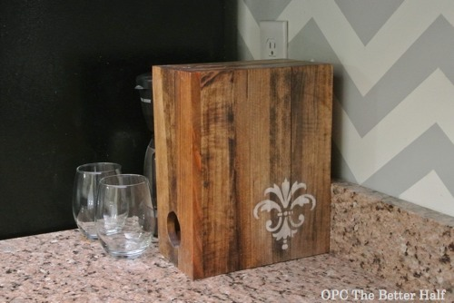 Boxed Wine Holder - OPC The Better Half