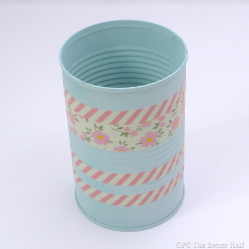 Washi Tape Tin Can - OPC The Better Half