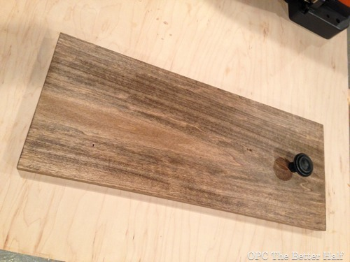 Rustic Wood Hanger - OPC The Better Half