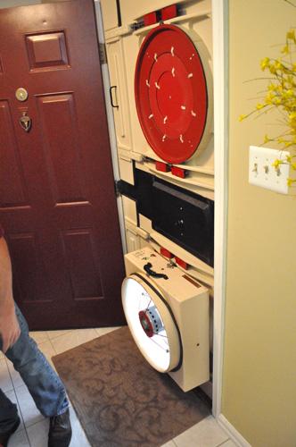 Blower-Door-Setup