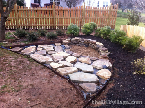 Loose Flagstone Patio
