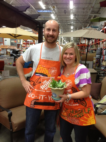 OPC and The Better Half at Home Depot DIHworkshop