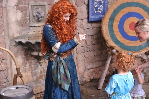 Meeting Brave Princess Merida - OPC The Better Half