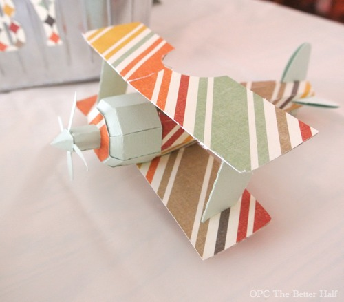 Vintage Biplane Baby Shower Ideas   OPC The Better Half
